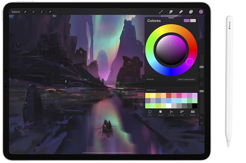 Procreate App Ayan Ilustración Apple Pencil iPad Pro