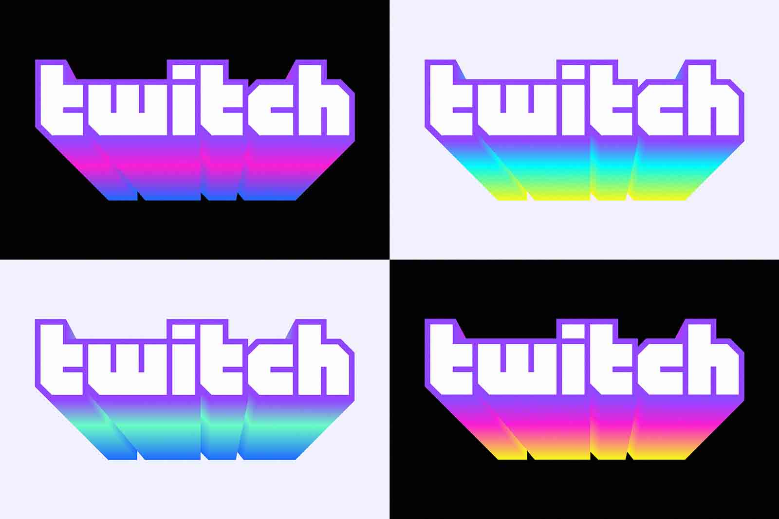 logos twitch degradado