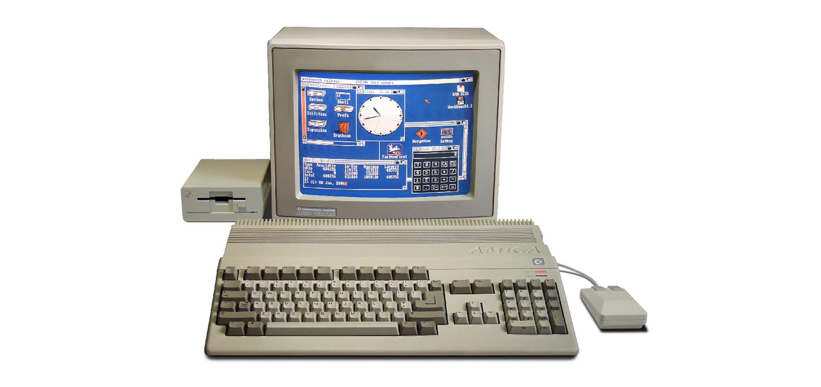 Ordenador Amiga Commodore